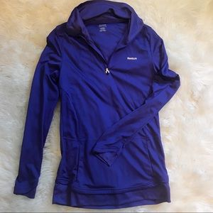 Purple Reebok Sweatshirt